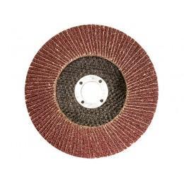 Круг лепестковый торцевой клт 125*22 р 40