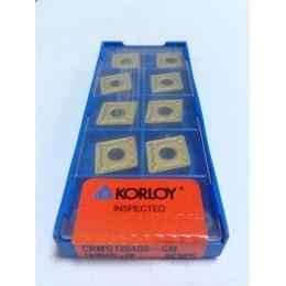 Пластина твердосплавная сменная CNMG-120408 MP(PC8115) Korloy