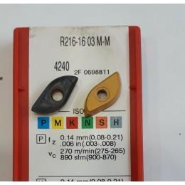 Пластина R216-16 03 m-m (4220) фрезерная