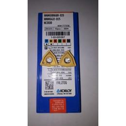 Пластина твердосплавная сменная WNMG-080408 B25 NC3030