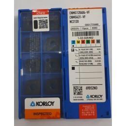 Пластина твердосплавная сменная CNMG-120404 VF NC3010 Korloy