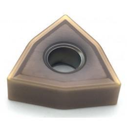 Пластина твердосплавная сменная WNMG–080404 SF (JC5015) Dijet